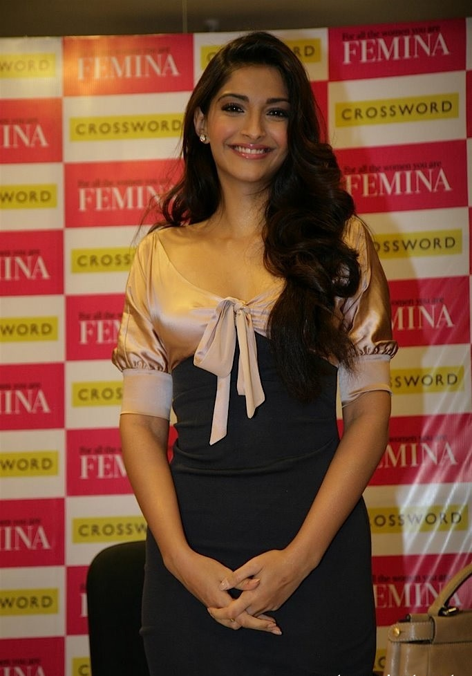 Sonam Kapoor Picture at Femina launch