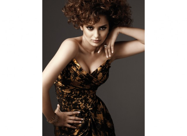 Kangana Ranaut Hot Cleavage Picture