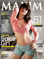 Jacqueline Fernandes Hot Maxim June 2011 Scan Picture