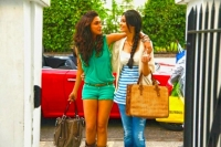 Picture of Diana Penty with Deepika Padukone in cocktail movie